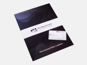 The Boardroom  - Marketing Materials