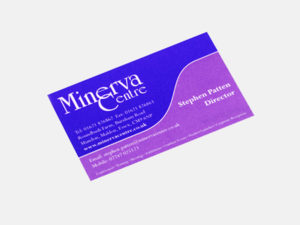 Minerva Centre - Business Card